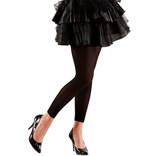 Preisvergleich Produktbild Damen Legging Schwarze Leggings blickdicht Damenleggings Elastische Hose unifarben Fasching Damenlegging für Hexe Piratin Teufel Vampir 80er Jahre Mottoparty Accessoire Fasching Karneval Kostüm Zubehör
