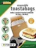 4sachets de cuisson réutilisables pour toasts