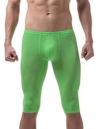 3f4faad29ed7 Reveryml Uomo Pantaloni Pigiama da Uomo Ice Silk Ultra-Sottile Sonno Bottom  Body Sculpting Pantaloni