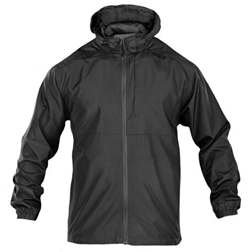 5.11 Men's Packable Operator Jacket Black Noir