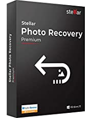 Stellar Photo Recovery Software | for Windows | Premium | Recover & Repair Deleted or Corrupt Photo, Audio, Video | 1 Device, 1 Yr Subscription | CD