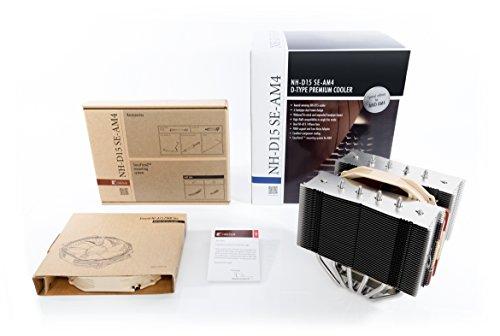 Noctua NH-D15 SE-AM4 140mm Premium Dual-Tower CPU Kühler für AMD AM4 -