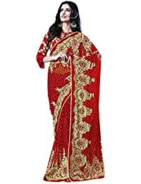 Mahotsav Women's Net And Satin Satin Sarees ( 9227 I )
