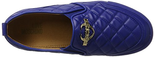 Love Moschino Ladies W.sneakers Slipper Blau (bluette)