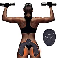 Hips Trainer EMS Muscle Stimulator Electrical Hip Trainer Muscles Toner Abs Trainer 6 Modes Smart Easy Hip Fitness Training