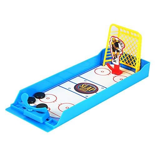 Naisicatar Kreative Mini-Finger-Desktop-Eishockey Schießen Sport Spiel Puzzle Spielzeug Bunte Educational Interaktives Spielzeug für Kinder Amusant Spielzeug