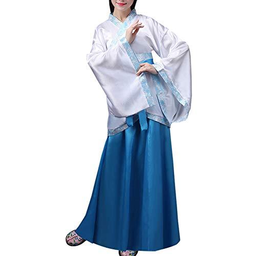Tenthree Chinesischen Stil Kostüm Damen - Kleidung Tang Anzug Traditionelle Bekleidung Hanfu Kostüme Cosplay Performances Tanz Kleider Vorstellungen Kostüm