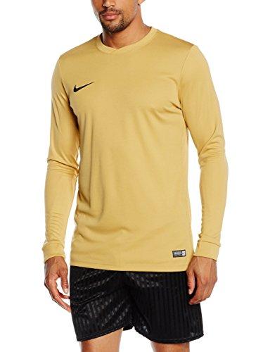NIKE Herren Langarm Trikot Park VI, 725884-738, gold (Jersey Gold/Black), Gr. L - Gold-damen-pink T-shirt