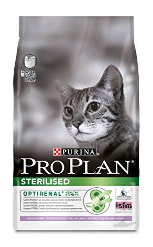 Purina Pro Plan Comida Seco para Gato Esterilizado con Optirenal, Sabo