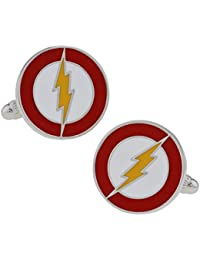 SS Copper The Flash Cufflinks for Men
