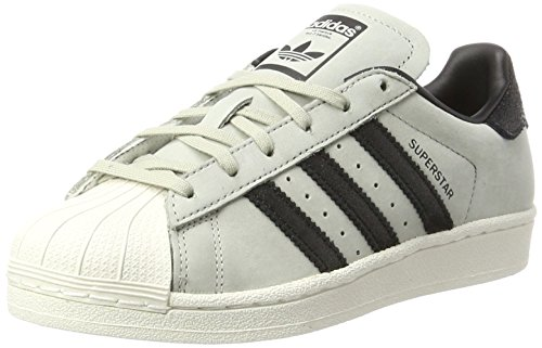 a0e45502243 adidas Superstar Fashion, Baskets Mixte Enfant, Ivoire Chalk White, 38 2/3
