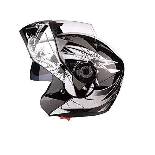 Preisvergleich Produktbild Motorradhelm,  Doppellinse mit offenem Gesicht,  Männer und Frauen,  Vier Jahreszeiten Motorradhelm