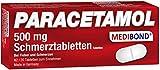 Paracetamol Medibond 500mg Schmerztabletten 20 Stück