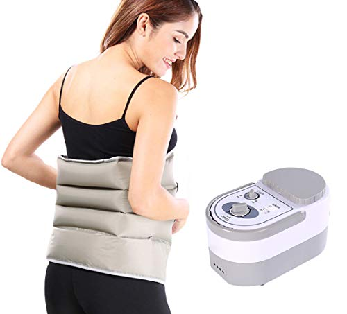Luft Welle Druck Massage Sequentielle Kompression Zirkulator Bein Arm Taille-Sequentielle Bein Massager Fördern Die Durchblutung Schmerzen Relief Abnehmen,Package4 -