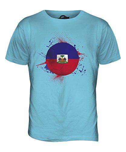 CandyMix Haiti Fußball Herren T Shirt Himmelblau