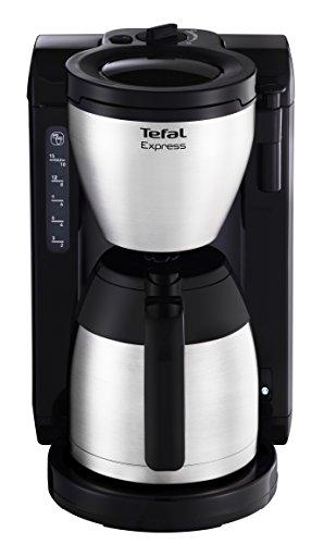 Tefal CI390811 Kaffeekanne, Edelstahl/Schwarz