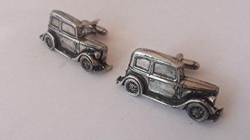 AUSTIN 7 RUBY Circa 1934 3D Boutons de manchette fabriqué à partir de fin anglais en étain