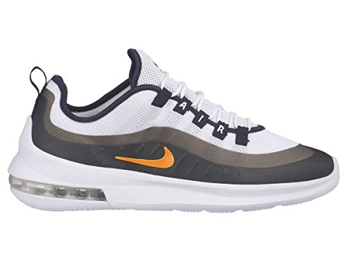 Nike Herren Air Max Axis Leichtathletikschuhe, Mehrfarbig (White/Total Orange/Obsidian 108), 43 EU -
