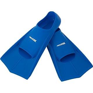 Aqua Speed® HIGH TECH Kurze Trainingsflossen | Schwimmflossen | Schwimmtraining | Kurzflossen | Taucherflossen | Größen 33-48, Modell:blau/11, Größen:31/32