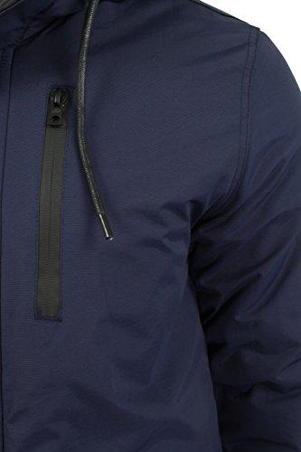 Herren Parkajacke von Tokyo Laundry 'Carmine' Mitternachtsblau