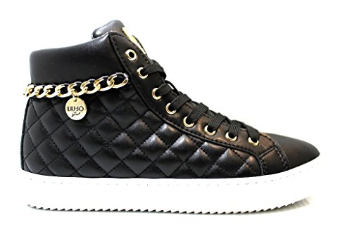 Liu Jo Girls UM22524 Polacchine Nero Scarpe Donna Calzature dal 35 al 40