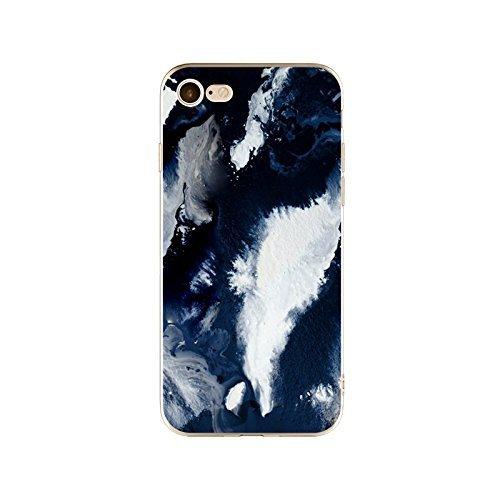 Schutzhülle iPhone 7Plus Schutzhülle étui-case transparent Liquid Crystal TPU Silikon klar, Schutz Ultra Slim Premium, Schutzhülle Prime für Iphone 7plus-marbre 22
