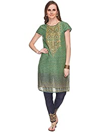 [Sponsored Products]Haute Curry By Shoppers Stop Womens Printed Kurta And Pant Set