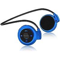 Auriculares Bluetooth Deporte V4.1 Auriculares Bluetooth inalámbrico con Rádio FM con micrófono para correr