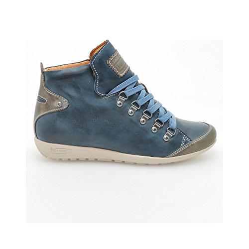 Pikolinos, Stivali donna Marron blu Size: 36