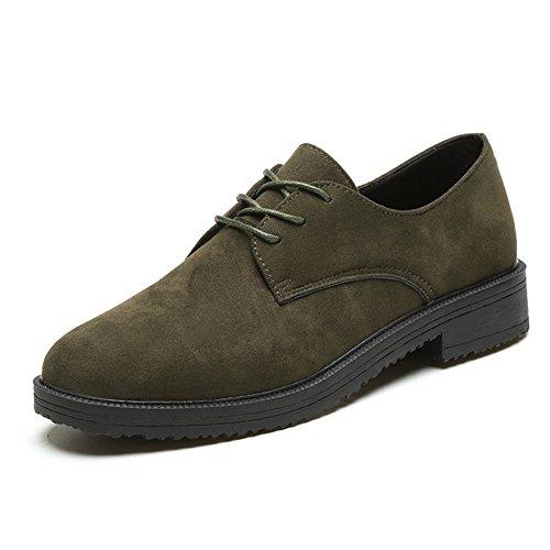 XTIAN , chaussons d'intérieur femme Armee-Grün
