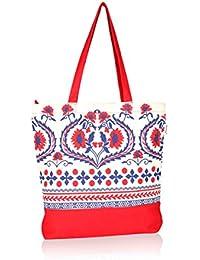 pick pocket Women's Tote Bag (Red)