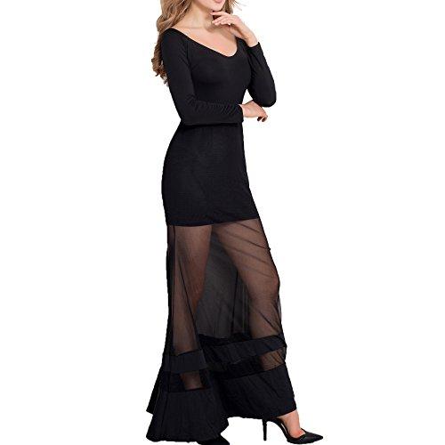 E-Girl Or70229 Damen Abendkleid Schwarz