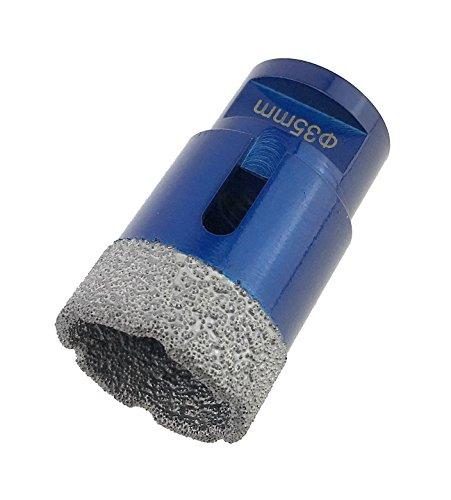 PRODIAMANT Premium Diamant-Bohrkrone Fliese/Feinsteinzeug 35 mm x M14 PDX955.880 35mm passend für Winkelschleifer