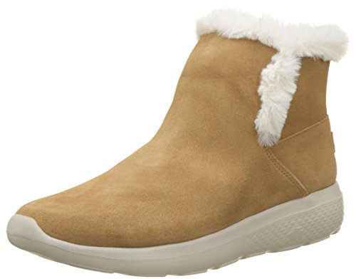 Skechers Damen On-The-go City 2 Chukka Boots, Beige (Chestnut), 39 EU
