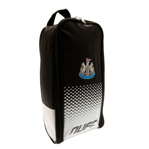 Newcastle Utd United Football Club Stiefel Tasche schwarz weiß offiziellen