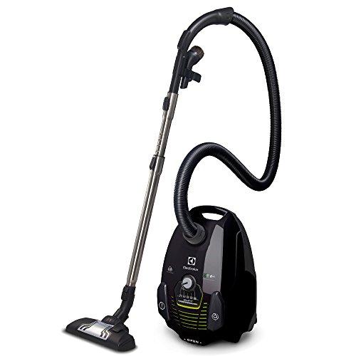 Electrolux SilentPerformer Green - Aspirador con bolsa AAA, cepillo especial para parquet, color negro ébano y verde [Clase de eficiencia energética A]