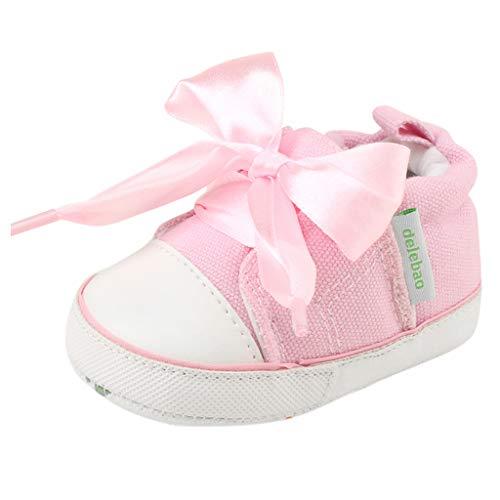 Berimaterry Bebe Zapatos Recien Nacido Niña Primeros Pasos Bordado Floral Antideslizante Suela Blanda...