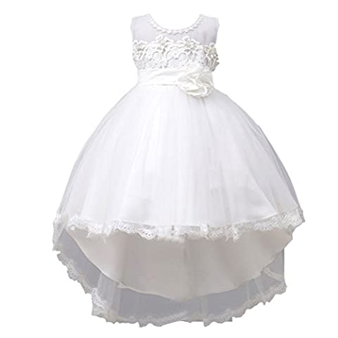 Zhhlinyuan Fashion Multi-color Kid Party Wedding Bridesmaid Tutu Dresses Girls