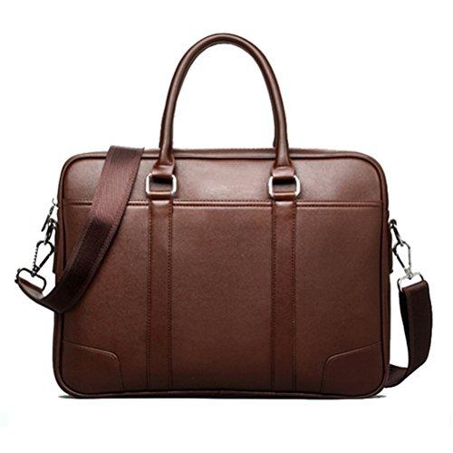 Männer aus Leder Tasche Umhängetasche Messenger Bags kausale Handtasche Business Laptop Aktenkoffer männlichen Bolsa -