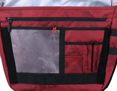 EVOC Messenger Bag classiche, Unisex, Messenger Bag, multicolore, 44 x 35 x 13 cm, 20 Liter red / ruby