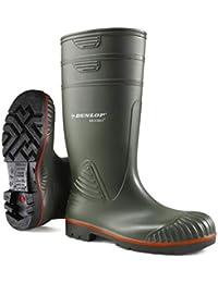 Dunlop A442631 S5 ACIF.KNIE GROEN 45 Botas de estar por casa Unisex adulto, Verde (Groen), 42 EU (8 UK)