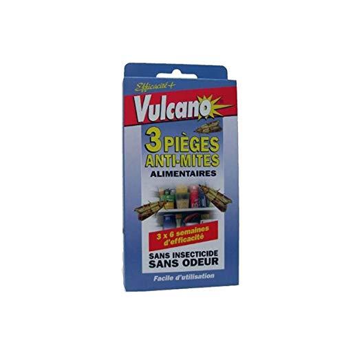 Vulcano 3trappole anti-mites alimentari nuisipro