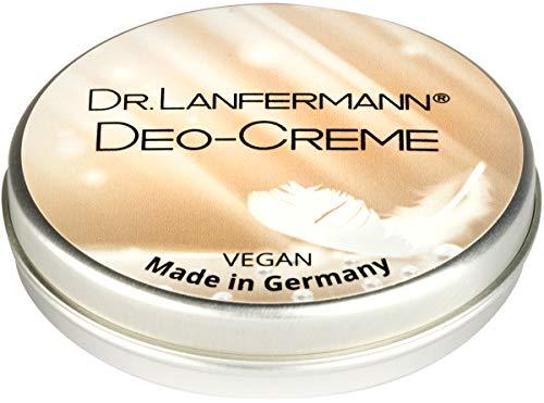 Dr. Lanfermann Deo-Creme vegan 30g - Deodorant Creme ohne Aluminium mit einzigartiger lang anhaltender Wirkung -
