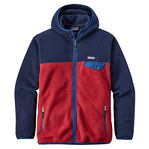 Patagonia Herren M'S LW Synch Snap-T Trikot, rot (Classic Red), L Patagonia Pullover Nylon