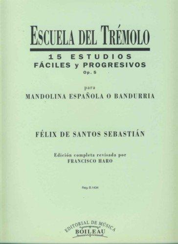 15 Estudios fáciles y progresivos de Mandolina, Bandúrria y Laúd