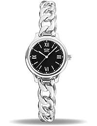 2d156811ac94 Davis Reloj Analógico para Mujer de Cuarzo con Correa en Acero Inoxidable  2260