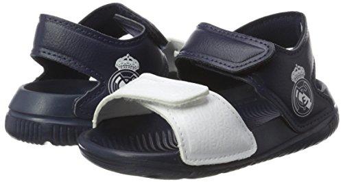 adidas Unisex-Kinder Real Madrid Altaswim Gladiator Sandalen, Violett (Mornat/Ftwbla/Maruni), 26 EU -