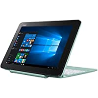 "Asus T101HA-GR045T Notebook, LCD 10.1"" HD, Processore Intel Atom Z8350, RAM 2 GB, EMMC 32 GB, Menta Verde"