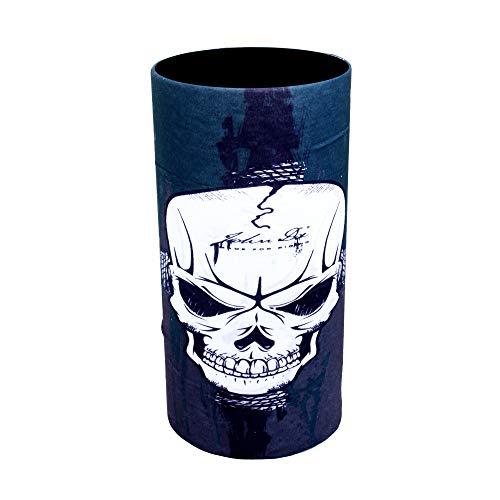 ZaPro HD Druck Premium - Multifunktionstuch - Verschiedene Designs Bedrucktes Halstuch Motorrad Sommer Frühling Totenkopf Skull Fastnacht Bunt Maske Joker Buff Tuch Venom (John Die) (Die Joker-maske)