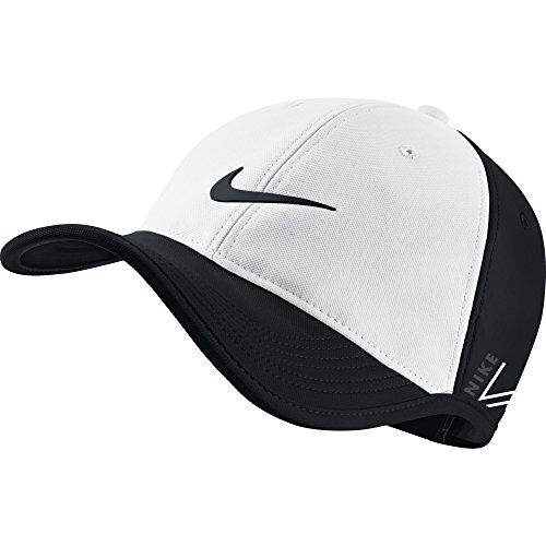 Nike 639673-103 New Ultralight Tour Rzn Vapor Adjustable White Black ... b9d5f3414aab